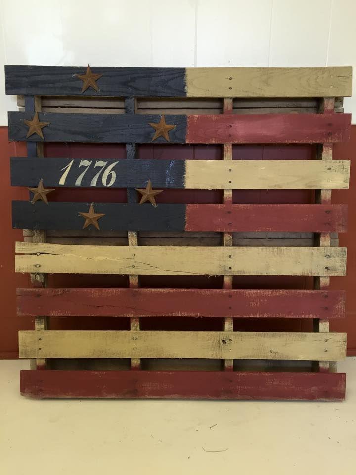 Americana crate possible idea but smaller