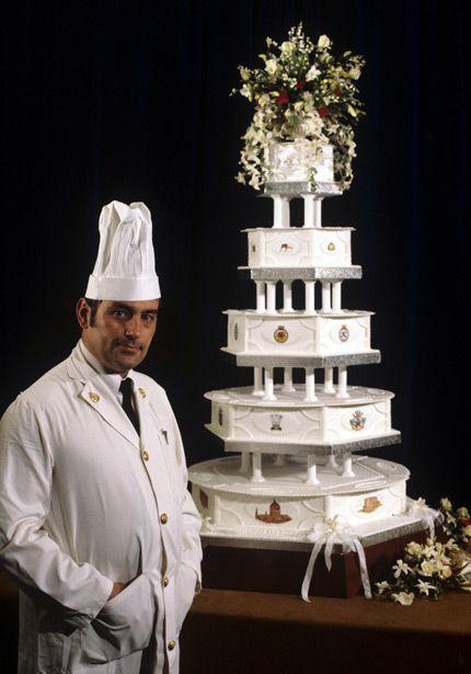 Confraria Gastronômica do Barão de Gourmandise®: David Avery o criador do  bolo principal feito para a realeza (um dos mais de vinte bolos) do casamento de príncipe Charles e princesa Diana, na década de 80.