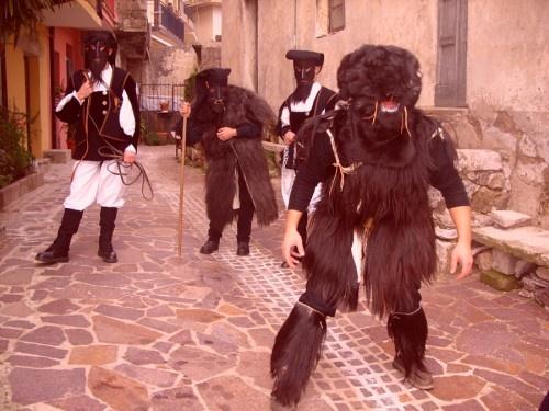 Carnevale di Ulassai:su Maimoni.
