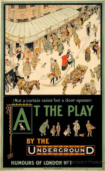 Poster 1983/4/337 - Poster and Artwork collection online from the London Transport Museum