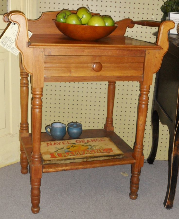 Antique Wash Stand By The North Door
