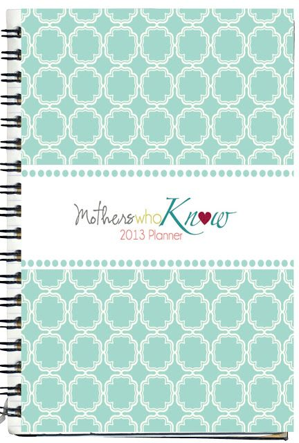 LDS Planners for Moms: The 2014 Planner