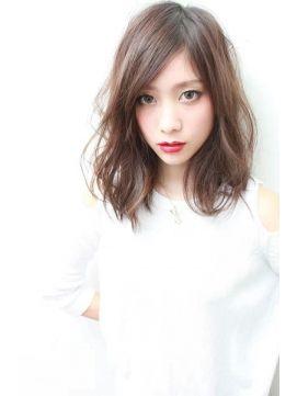 ノズ 渋谷公園通り店(Noz)【パーマでもできる】大人女子のセミロングスタイル