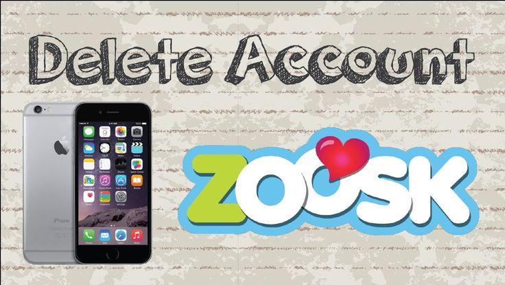 How to delete Zoosk account Mobile App video youtube