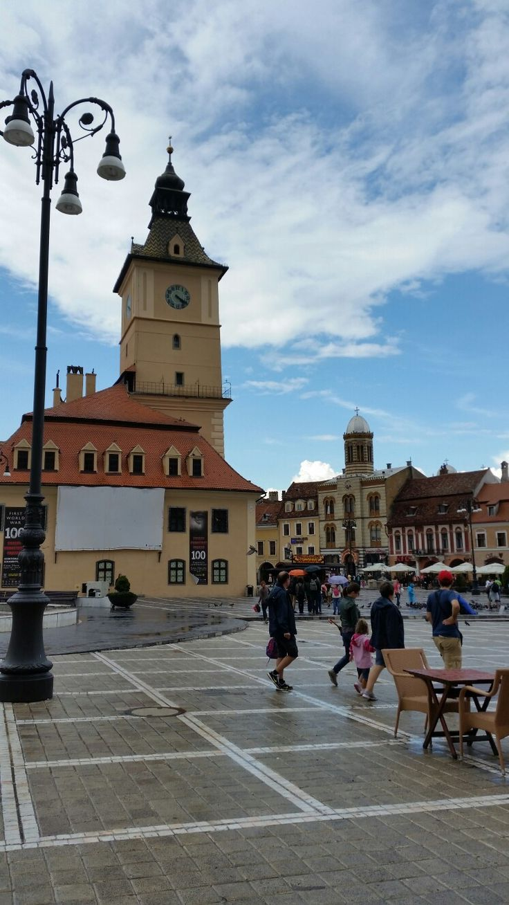 Main building of Brașov Council Square (Piata Sfatului) is Council House, which was built in 1420 and is located in the middle of the square.  #trivo