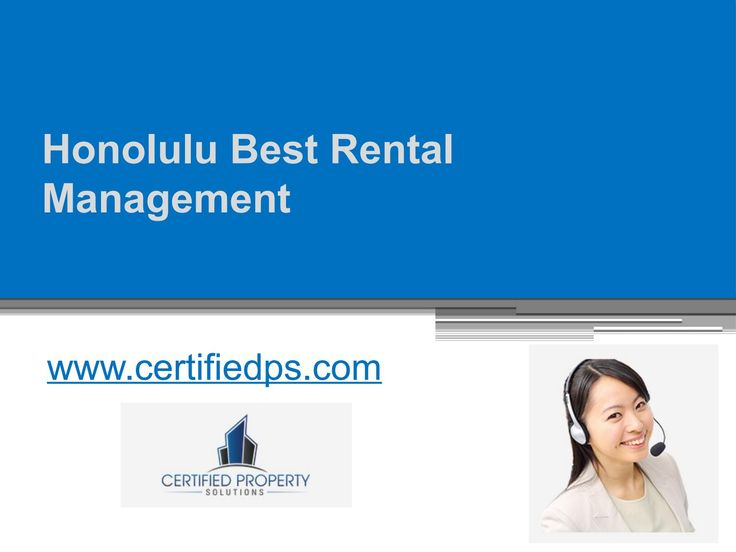 Oahu rental management of http://www.certifiedps.com/ allows you to stay away from several issues related to your property and handle them from afar. https://www.scribd.com/presentation/322890255/Honolulu-Best-Rental-Management-Www-certifiedps-com