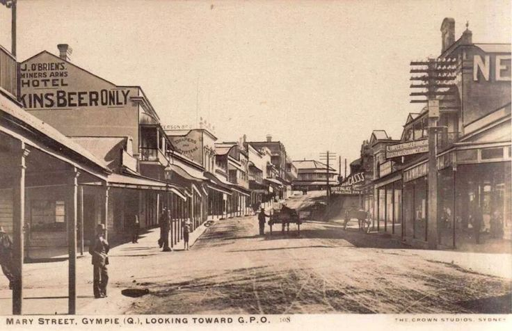 Mary Street, Gympie - not sure of date.