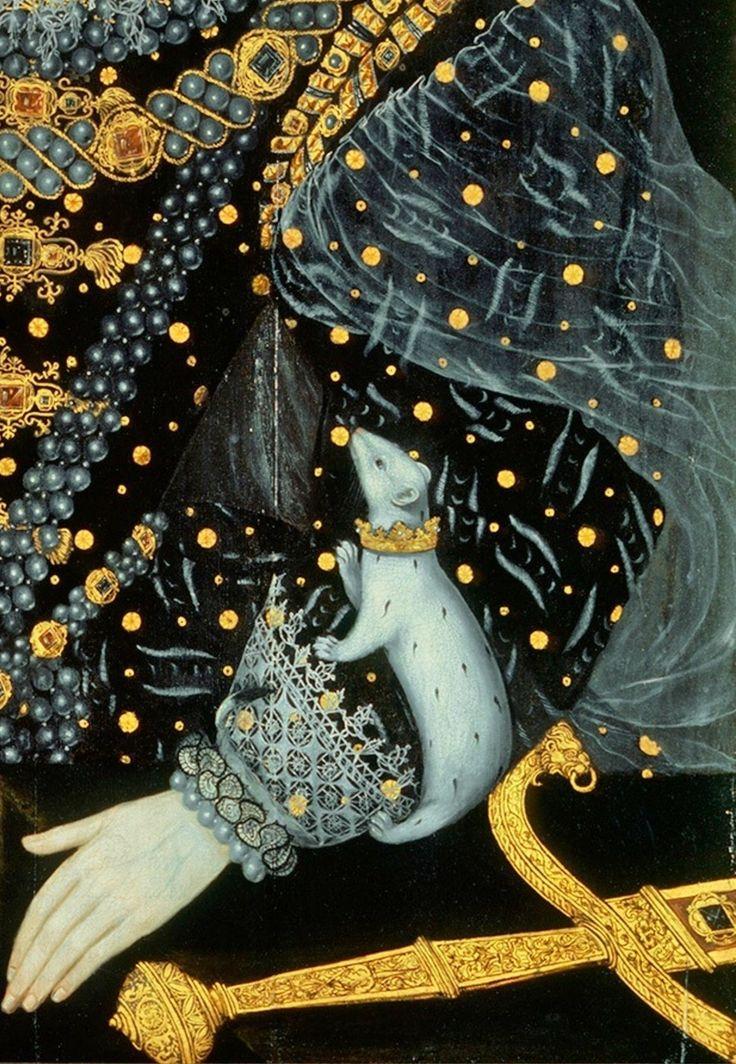 Queen Elizabeth I by William Segar - Click to enlarge