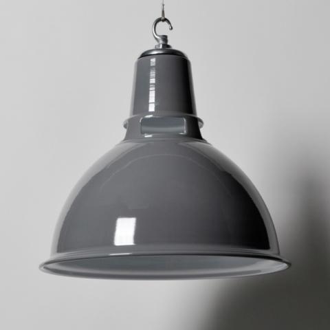 #grey Dunlop pendant light