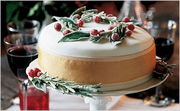 Christmas Cake Masterclass recipe