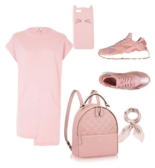 """""""Sans titre #2"""" by saryr on Polyvore featuring River Island, NIKE, Charlotte Russe, Manipuri, men's fashion et menswear"""