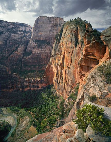 Angel's Landing, Zion National Park, UT...check