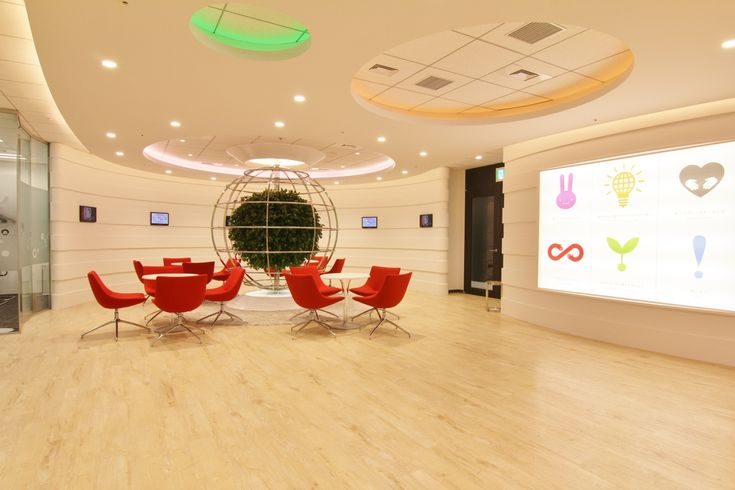 CIを強化しオフィス全体でブランディングを図る、魅せるオフィスへ |オフィスデザイン事例|デザイナーズオフィスのヴィス