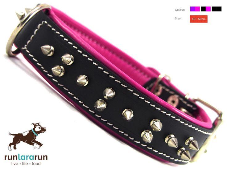 "runlararun - the best dog collars, leads and harnesses - ""Takora"" Collar - 4cm Width, $39.95 (http://www.runlararun.com/takora-collar-4cm-width/)"