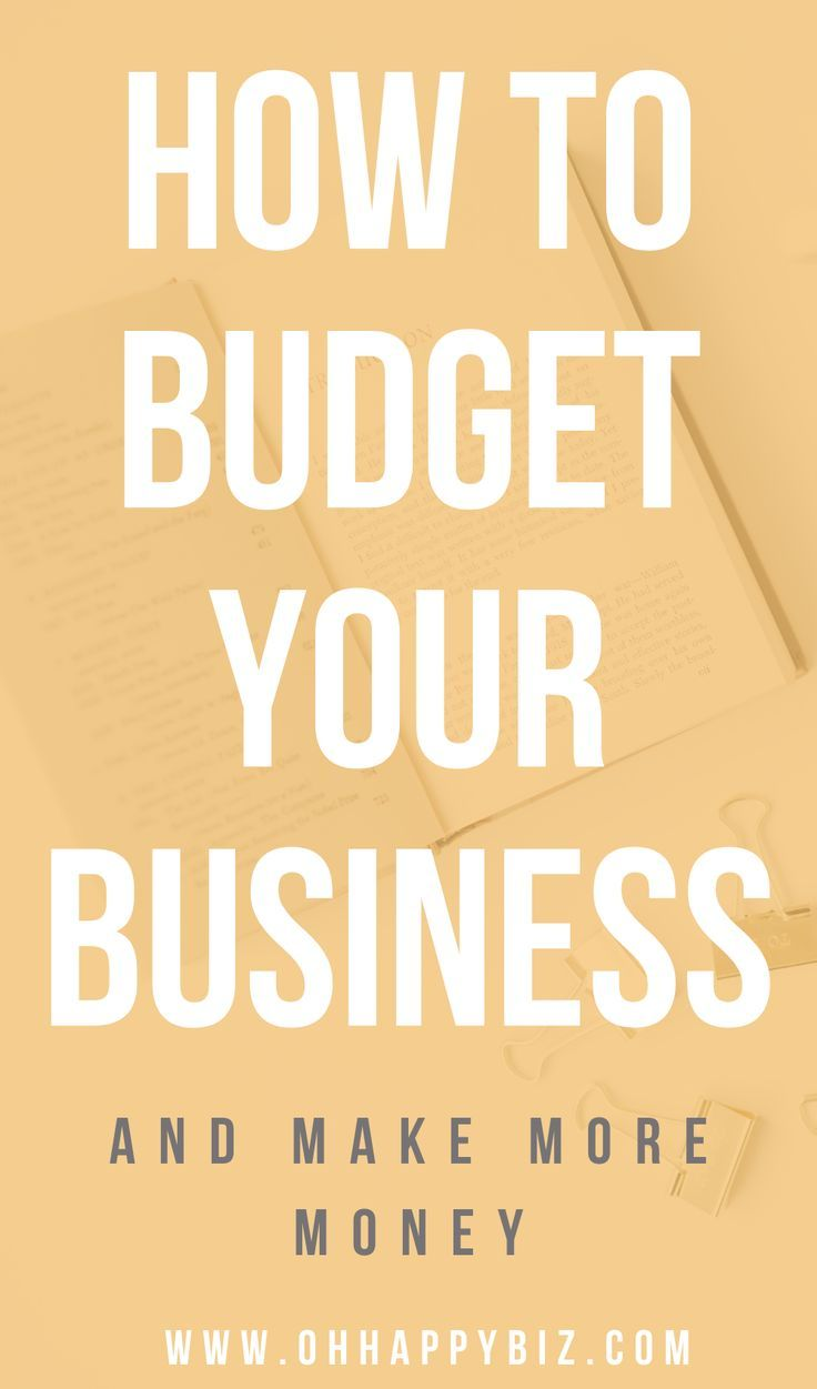 How To Create A Business Budget Business Budget Template Budgeting Creating A Business
