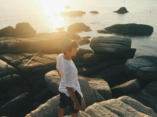 beach, asian, and nature Bild