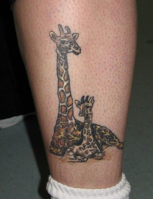 giraffe+tattoo | Giraffe – Tattoo Picture at CheckoutMyInk.com
