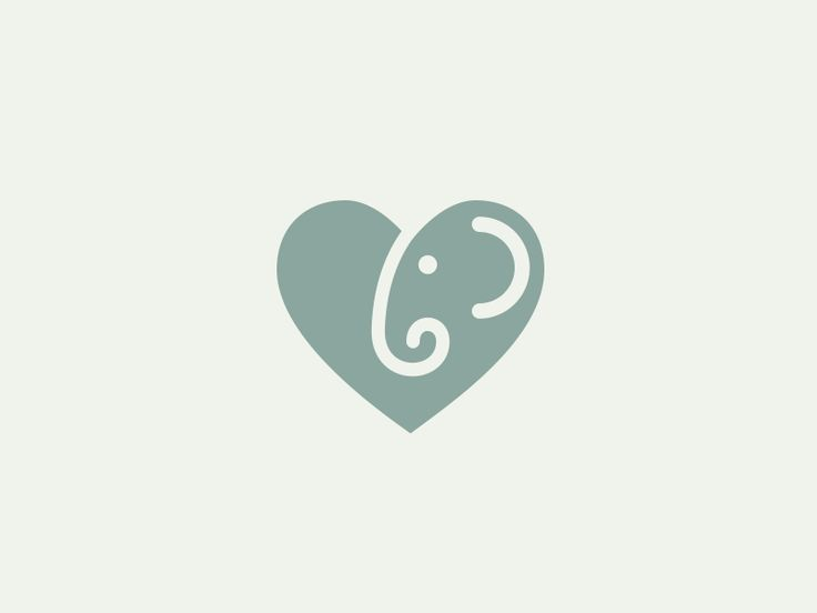 Series of icons Animal + Heart. Project at Behance  Series of Icons:    1. Sheep 2. Pigeon 3. Elephant 4. Whale 5. Ladybug 6. Cat 7. Deer 8. Stork