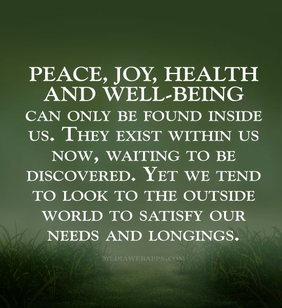 Peace And Joy Quotes: 1000+ Images About Family Health & Well-being On Pinterest