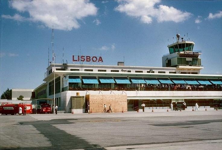 Aeroporto de Lisboa em 1963