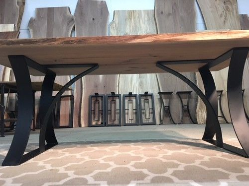 28 Inch Tall Steel Grande Dining Table Base Set Dining Table Legs