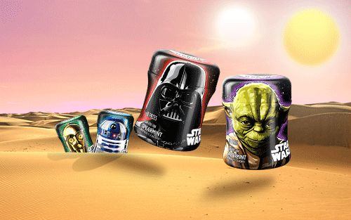 Mondelez | Trident. Our limited edition collector series awakens the force in anticipation of the new Star Wars movie.