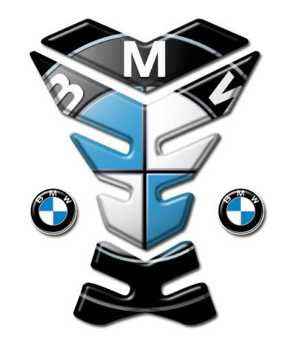 15 € - TANK-PAD-Paraserbatoio-adesivo-resinato-3D-per-moto-BMW-B-009