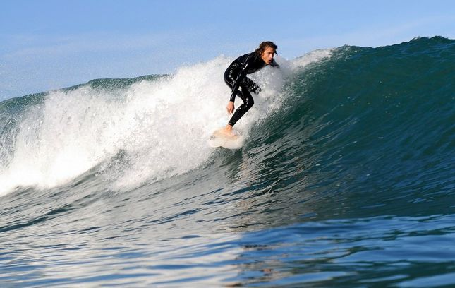 Son Serra de Marina In the #wintertime you can also find good waves on the #island #surf #paradise #waves