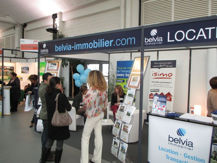 [ Salon Immobilier ] Vous avez été nombreux à nous rendre visite sur le stand de Belvia Immobilier à l'occasion du Salon Immobilier de la Rochelle. Nous vous en remercions.  Notre équipe reste à votre service au 0 821 21 01 01.  Plus d'infos : www.belvia-immobilier.com