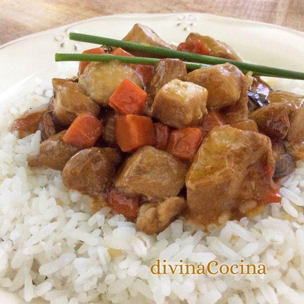 Esta receta de pollo teriyaki fácil es una versión simplificada de la original. No tendréis ningún problema y lo encontraréis todo en cualquier supermercado