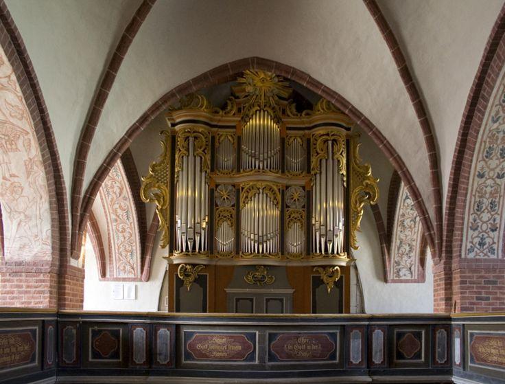 Lenzen, St. Katharinen, Scholze-Orgel
