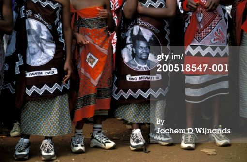 The free wear of the swati people that live in the area