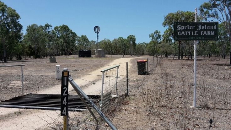 Cattle Station, Groper Creek, Qld..really dry