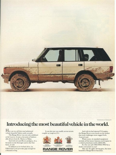 A Range Rover Classic, as it should look, USED!