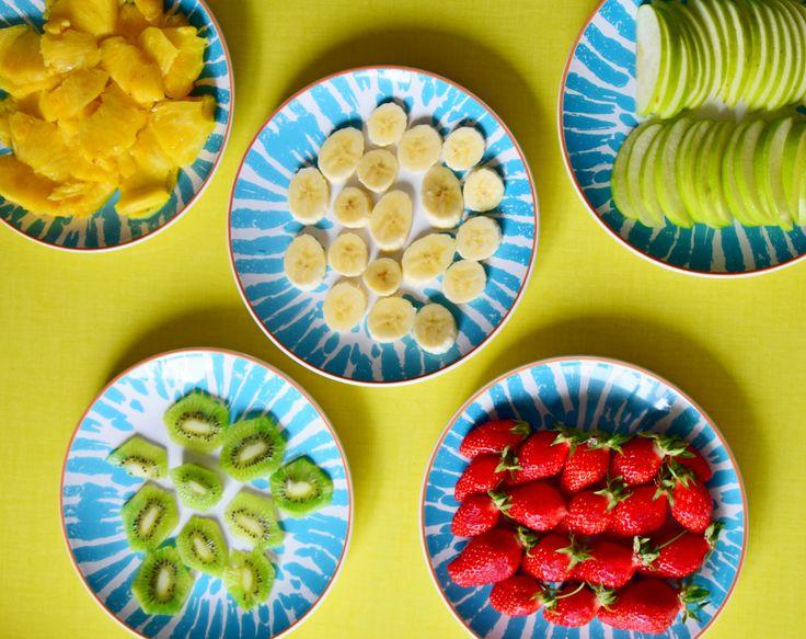 Pour une tarte tutti frutti, tarte aux fruits : Découpez les fruits finement