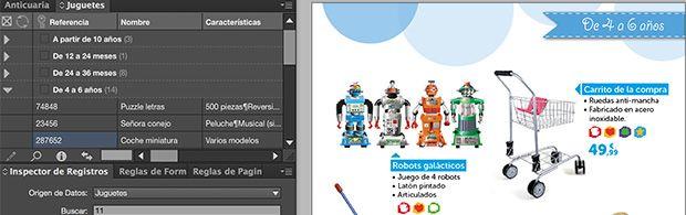 Video tutorial: creación automatizada de un catálogo de juguetes con EasyCatalog para InDesign