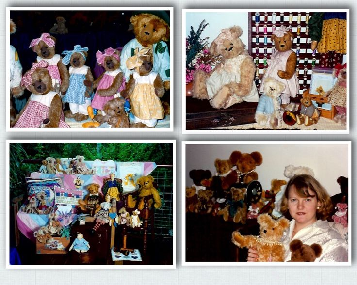 Some oldies here - me in 1993. the other photos are from later in 1990's  #megelles  Megelles is celebrating 30 years  of Bear Making in 2015