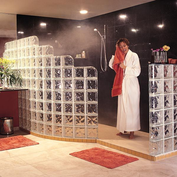 1000+ Ideas About Glass Block Shower On Pinterest