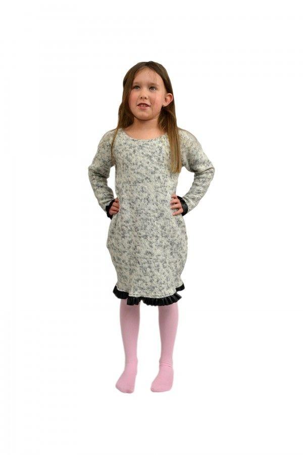 1d15b54cbe Sukienka z mięciutkiej dzianiny