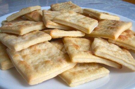 Маца (пресный хлеб по рецепту еврейской кухни)