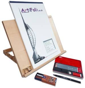 Artifolk A3 Easel Drawing Gift Set (1047)