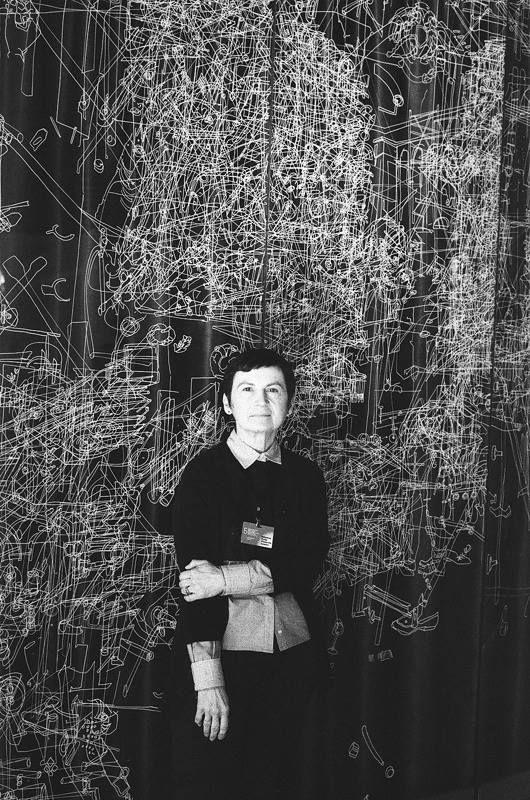 Gosia Wlodarczak photo: Arthur Shuraev  Moscow Biennale of contemporary art (2013)
