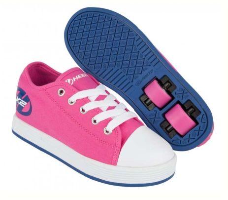 Zapatos negros Heelys infantiles ARlfec