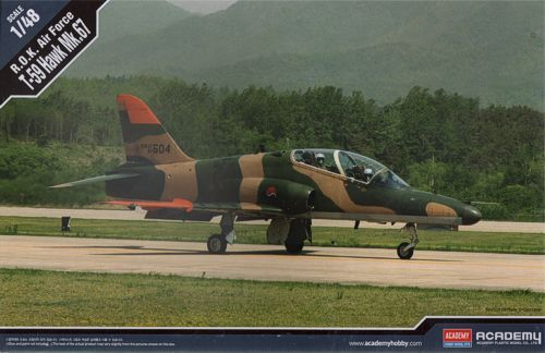 T-59 Hawk Mk.67, South Korea Air Force. Academy, 1/48, injection, No.12236. Price: 17,49 GBP.