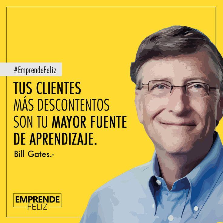 (William Henry Gates III; Seattle, Washington, 1955) Informático y empresario estadounidense, fundador de Microsoft. #Emprendedores #HistoriaEmprendedora #BillGates #Motivate #EmprendeFeliz #Baires #Bogota #Caracas #Emprendedoras #Empresa #Marketing #SocialMedia #RedesSociales #biografia