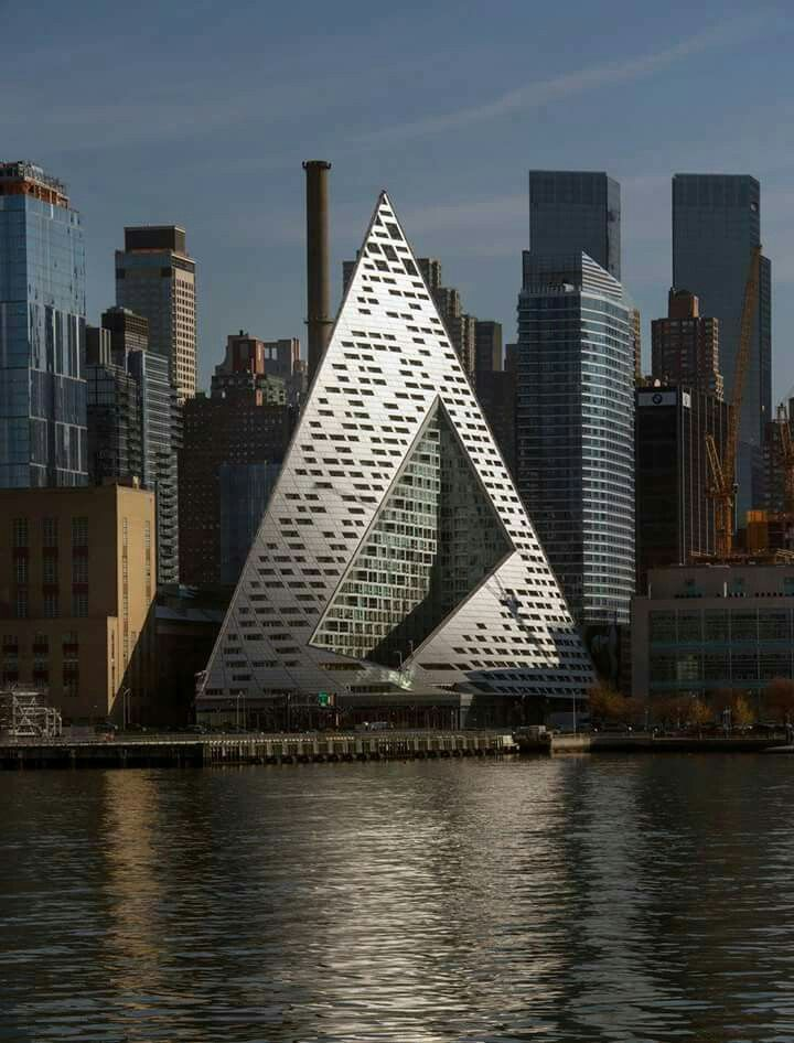 Pyramid on the Hudson 57th West  N Y Apartment Building