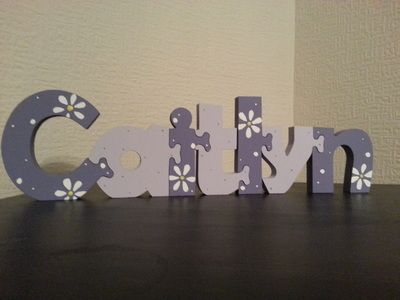 £2.75 per letter. Lots of colours and designs available - Dancing Duck Designs