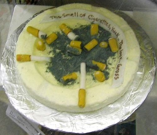 Ugly Cake Contest, Second Prize by Maia C, via Flickr