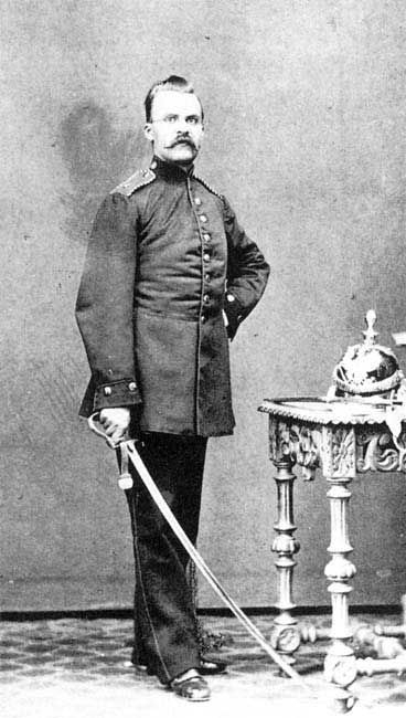 81 best philosophers images on pinterest livros people and philosophy picture of friedrich nietzsche as a prussian artilleryman in 1868 fandeluxe Images
