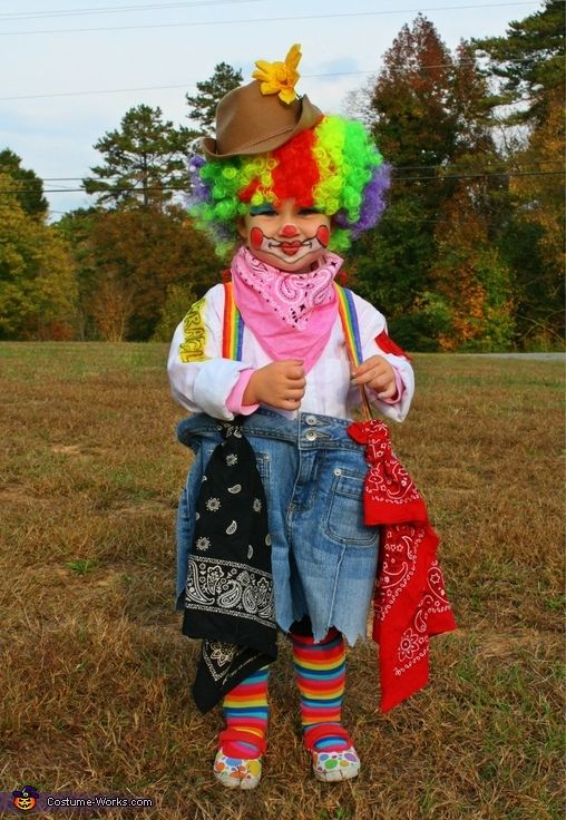 Rodeo Clown Costume - Halloween Costume Contest via @costume_works